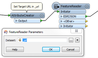 FeatureReader example